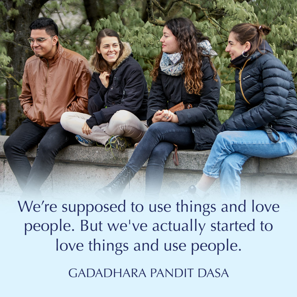 Pandit Dasa Explains Why Success Is Always Shared